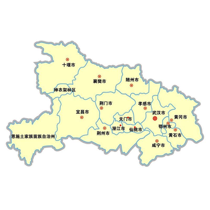 湖北鹤峰县中营镇地图